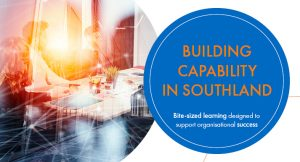 Building Capability – Making Time for What's Important