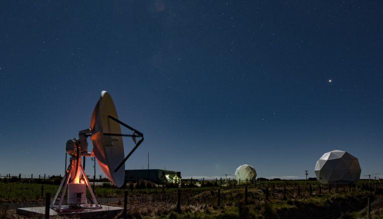 Awarua Satellite Ground Station - Southland, New Zealand - Credit Dave Allen, NIWA (15)
