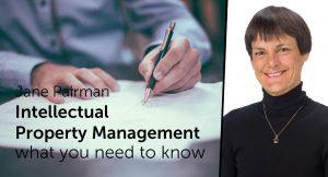 Intellectual Property Management workshop